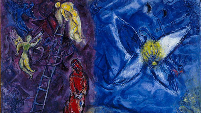 Chagall jacobs dream